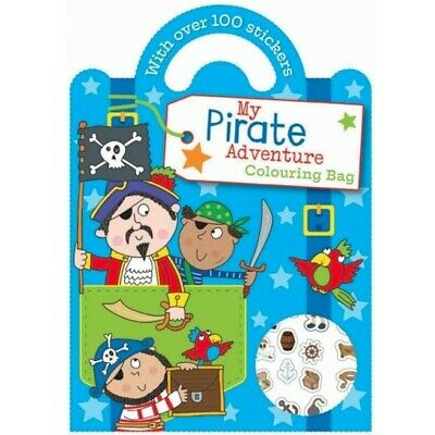 £1.95 • Buy Childrens Pirates Sticker Activity & Colouring Books - Over 100 Stickers Boys