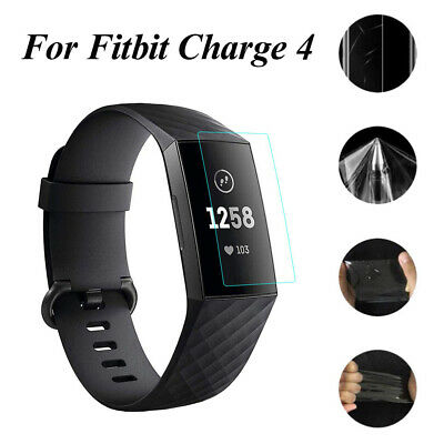 $ CDN6.25 • Buy TPU Protective Film Full Cover Screen Protector For Fitbit Charge 4 Smart Band