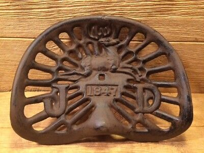 Reproduction 1847 Antique Cast Iron Tractor Seat 17  Wide 08516R • 59.93£