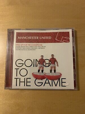 Manchester United - Going To The Game - CD Sing Up For The Champions 2003 • 12.99£