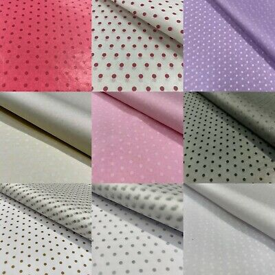 £3.62 • Buy Polka Dot Printed Tissue Paper Acid Free High Quality Bio Recyclable 5 Colours