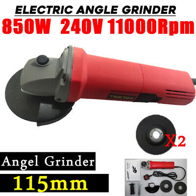 4.5'' Angle Grinder 115mm Small Electric Sander Professional, 850W, 11000RPM Cut • 12.90£