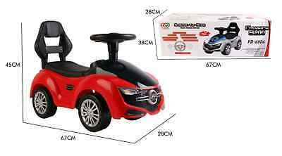 £34.99 • Buy Ride On Car  Kids Foot To Floor Toddler Push Along Toy With Sounds Push Along