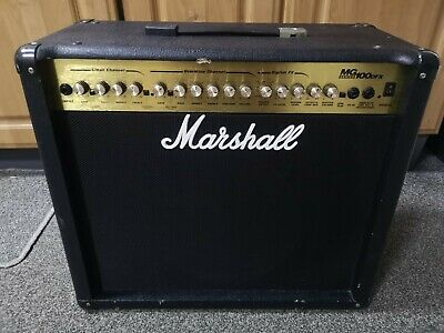 £120 • Buy Marshall MG100DFX 100w Electric Guitar Combo Amplifier Celestion Vintage 30