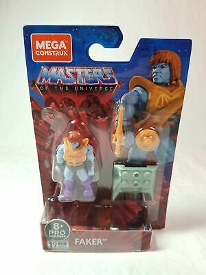 $15 • Buy Mega Construx Masters Of The Universe Wave 4 Heroes Faker Action Figure