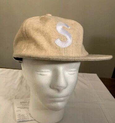$ CDN131.38 • Buy Supreme Wool S Logo 6-panel Hat, Natural Fw19 Week 9 In Hand Authentic Brand New