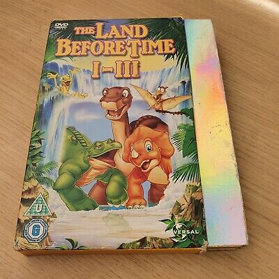 £4 • Buy The Land Before Time 1-3  DVD
