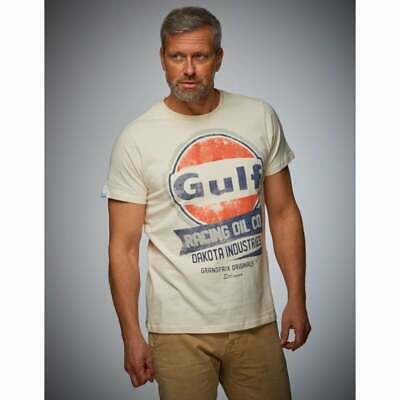 Grandprix Originals Gulf Oil Racing T-Shirt Cream • 31.49£