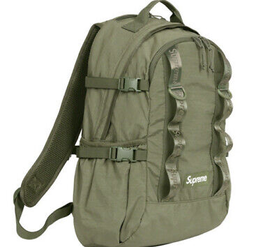 $ CDN383.13 • Buy Supreme Backpack Olive Os Fw20 (in Hand) Brand New, 100% Authentic. Fast Ship
