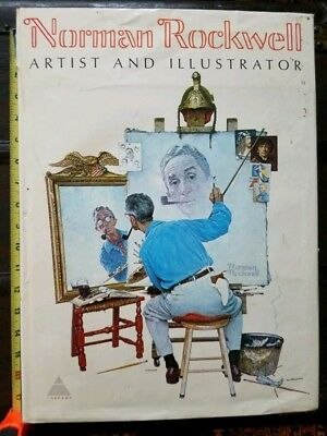 $ CDN32.89 • Buy Norman Rockwell Artist And Illustrator 1st Edition 1970 Book, By Abrams, 11 Lbs