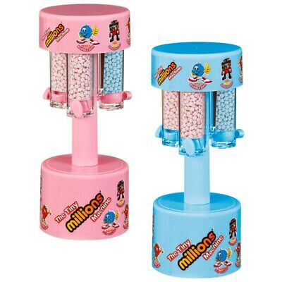 Tiny Millions Chewy Sweets Dispenser Machine CHRISTMAS Gift - Pink / Blue • 8.99£