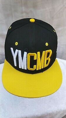 Ymcb - Black And Yellow Snap Back Hat Cap  • 9.49£
