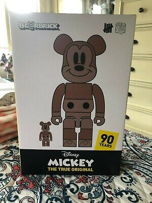 $400 • Buy Disney Medicom Undefeated Bearbrick Mickey 400% 100% True Original Exhibit NYC
