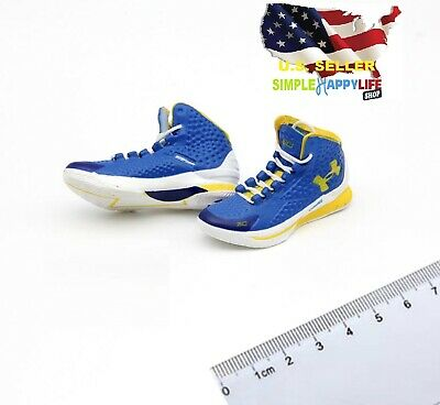 $17.99 • Buy 1/6 Male Sneakers Basketball Blue Shoes 12  Phicen Enterbay Kobe Hot Toys ❶USA❶
