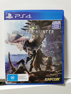 AU23.90 • Buy Monster Hunter: World - Sony PlayStation 4 (PS4) Game | LIKE NEW CONDITION
