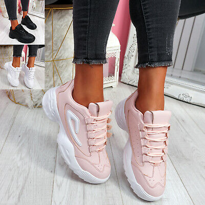$ CDN29.98 • Buy Womens Ladies Chunky Trainers Party Sneakers Platform Women Sport Shoes Size