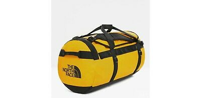 The North Face Base Camp Duffle Bag - Large Yellow 95L FREE DELIVERY IN UK  • 90£