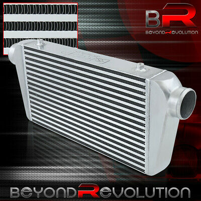 $106.99 • Buy Front Mount Turbo/Supercharger Intercooler 27.25X11X3 Bar&Plate 3  Inlet/Outlet