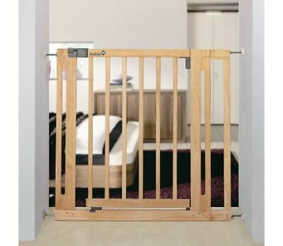 £27.99 • Buy Wooden Easy Close Safety 1st Gate Extension Colour Natural Wood