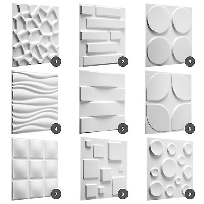 £63.95 • Buy Kitchen Wall Panels Decorative Tiles Home DIY Wall Cladding Boards Wallpapers