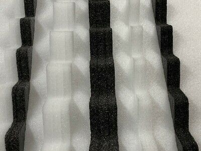 Eaves 10 pairs 26//1000 Box Profile Foam Fillers Infills Roofing Sheets