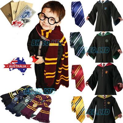 AU30.99 • Buy *Robe+Tie+Scarf* Harry Potter Costume Gryffindor Halloween Cosplay Party Xmas AU