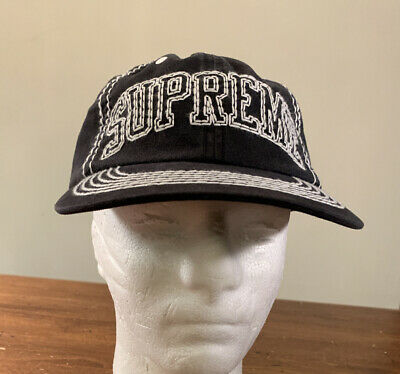 $ CDN120.65 • Buy Supreme Big Stitch 6-panel Black Hat, Fw20 Week 3 Os (in Hand) Authentic, New