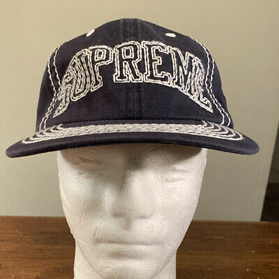 $ CDN113.65 • Buy Supreme Big Stitch 6-panel Navy Hat, Fw20 Week 3 Os (in Hand) Authentic, New
