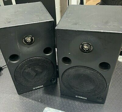 Pair Of Yamaha MSP5 Active Studio Monitor Speakers With Front Volume Control • 175£