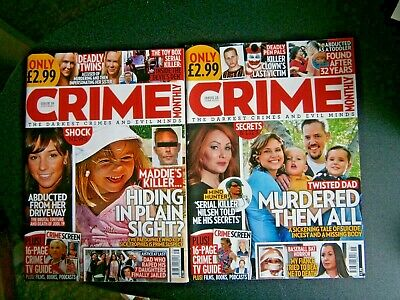 Crime Monthly Magazine Issue 16 July   (new) 2020 • 3.90£