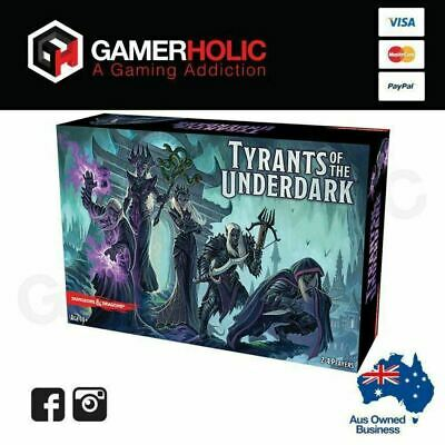AU82 • Buy D&D Dungeons And Dragons Tyrants Of The Underdark Board Game Brand New