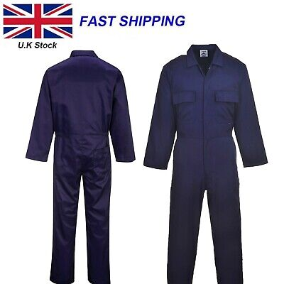 £18.95 • Buy Portwest Euro Work Overall Welder Mechanic Boiler Suit Coverall S999 Polycotton