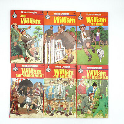 6 X Vintage 'William' Books By Richmal Crompton Paperback Job Lot Possible 1st • 14.99£