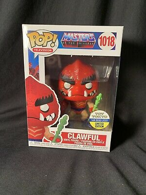 $49.99 • Buy SDCC 2020 Funko POP! Television Masters Of The Universe #1018 Clawful Toy Tokyo