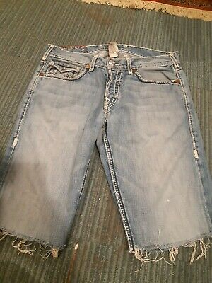 Authentic True Religion Shorts Size 34 • 20£