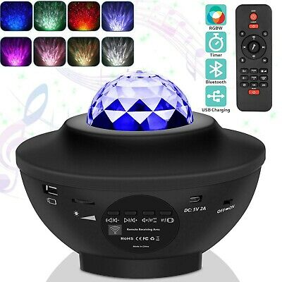 Galaxy Projection - LED Star Light Show Projector Bluetooth Music Speaker • 8.90£