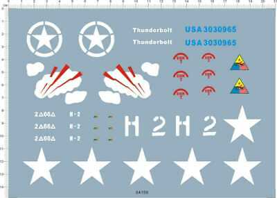 £9.99 • Buy Water Slide Decals 1/16 WWII Sherman (64159) For Model Kits