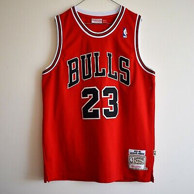 AU75 • Buy Michael Jordan Mitchell & Ness Chicago Bulls NBA Retro Vintage Basketball Jersey