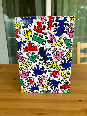 $550 • Buy Bearbrick Keith Haring 400% & 100% Set. *USED*