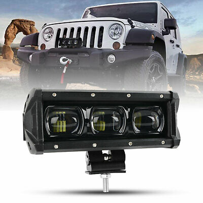 AU43.69 • Buy New 9D 8inch CREE LED Light Bar Spot Beam Work Driving Light OffRoad ATV UTE UTV