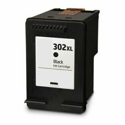 Refilled Ink Cartridge For HP 302 XL Black 302XL • 12.99£