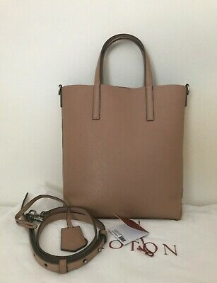 AU100 • Buy OROTON Duo-Small Tote Beige (Biscuit/Charcoal)