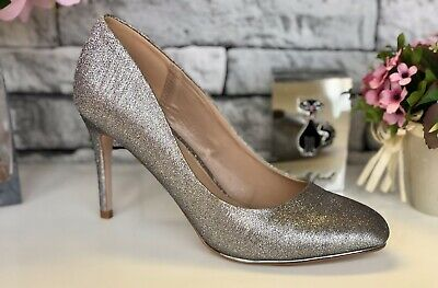MISS KG PEWTER COURT SHOE SIZE UK 5 EU 38 New In Box • 20£