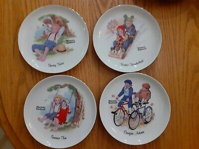 $ CDN94.15 • Buy Lot Of 13 Norman Rockwell Figurines And Plates