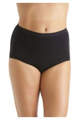 La Marquise Full Briefs Pack Of 3 Black Style 1012 • 6.50£
