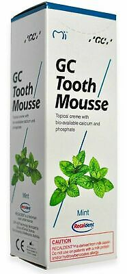AU35.50 • Buy GC Tooth Mousse Mint Flavour Topical Creme With Calcium & Phosphate