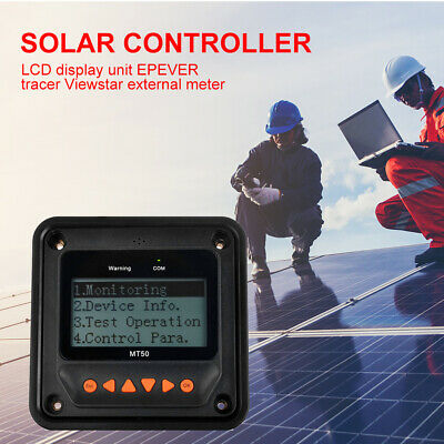MT50 LCD Remote Meter For EPEVER Tracer ViewStar MPPT Solar Charge Controller UK • 24.99£