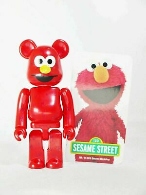 $25.99 • Buy MEDICOM TOY 100% Bearbrick Series 32 Cute Sesame Street Elmo