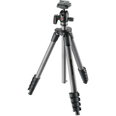 AU108.79 • Buy Manfrotto Compact Advanced Aluminum Tripod With Ball Head