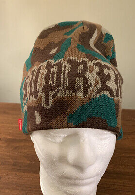 $ CDN99.76 • Buy Supreme Paris Camo Beanie Woodland Camo Os Fw20 Week 3 (in Hand) Authentic, New